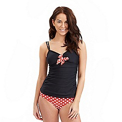 Joe Browns - Black mix and match bow top