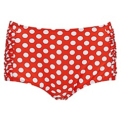 Joe Browns - Red mid leg tankini bottoms