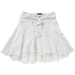Joe Browns - White luscious ocean view skirt