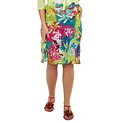Joe Browns - Multi coloured reversible beach and beyond skirt