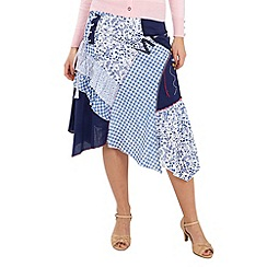 Joe Browns - Blue nautical but nice skirt