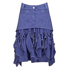 Joe Browns - Blue knot just a pretty skirt