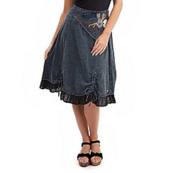 Joe Browns - Dark grey mystical skirt