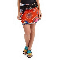 Joe Browns - Multi coloured festival reversible skirt