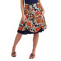Joe Browns - Multi coloured stunning salsa skirt