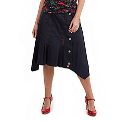 Joe Browns - Navy chic boutique skirt
