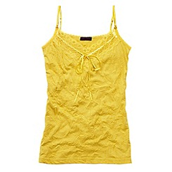 Joe Browns - Mustard Vibrant Versatile Cami