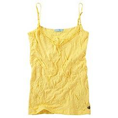 Joe Browns - Light yellow vibrant versatile cami