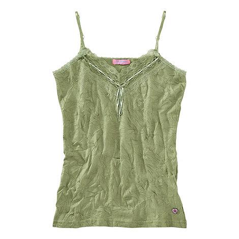 Joe Browns - Khaki versatile crinkle camisole