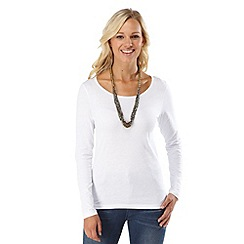 Joe Browns - White versatile long sleeved top