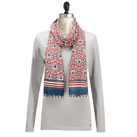 Joe Browns - Cream nicely nautical top & scarf