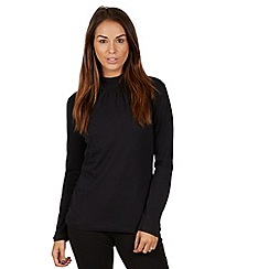 Joe Browns - Black long sleeve turtle neck top