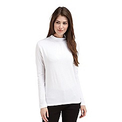 Joe Browns - White long sleeve turtle neck top