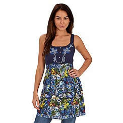 Joe Browns - Blue marvellous mexicana top