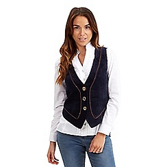 Joe Browns - Navy historical decadence waistcoat