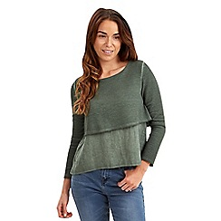 Joe Browns - Khaki luscious layered top