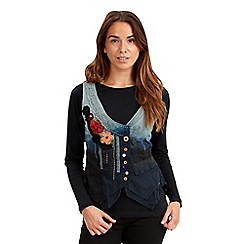 Joe Browns - Multi coloured awesome waistcoat