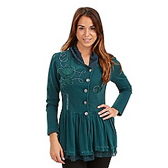 Joe Browns - Dark turquoise signature cover up