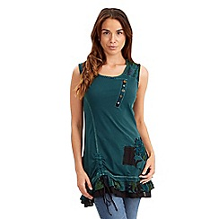 Joe Browns - Dark turquoise striking top
