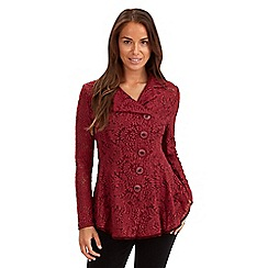 Joe Browns - Dark red boutiquey blazer top
