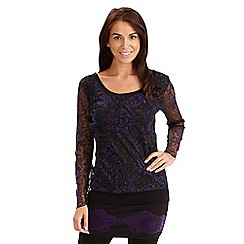 Joe Browns - Black marvellous mesh top