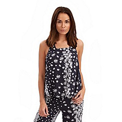 Joe Browns - Navy daisy vest