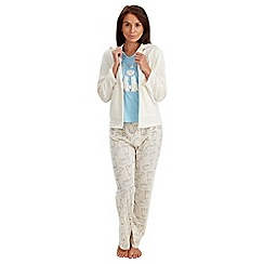 Joe Browns - Multi coloured 3 piece pj set