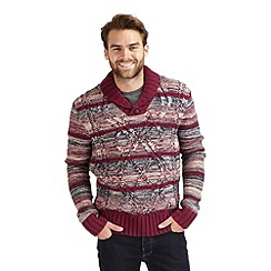 Joe Browns - Multi coloured cool cable knitted jumper