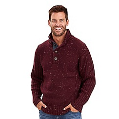 Joe Browns - Red fabulous funnel neck jumper