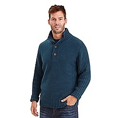 Joe Browns - Blue fabulous funnel neck jumper