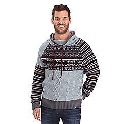 Joe Browns - Grey funky funnel knitwear