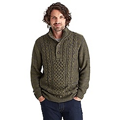 Joe Browns - Khaki fabulous funnel knit
