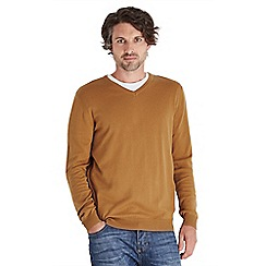 Joe Browns - Camel lucky layering jumper