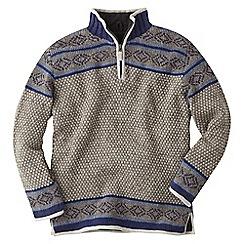 Joe Browns - Grey snuggle up winter knit jumper