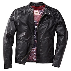 Joe Browns - Black leather biker jacket