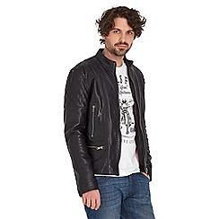 Joe Browns - Black full throttle leather jacket