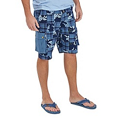 Joe Browns - Blue check me out shorts
