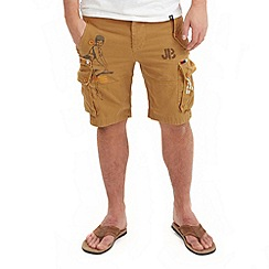 Joe Browns - Tan crazy cargo shorts