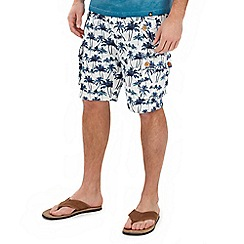 Joe Browns - Multi coloured palm tree combat shorts