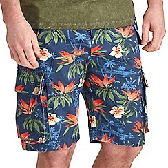 Joe Browns - Multi coloured hint of indigo shorts