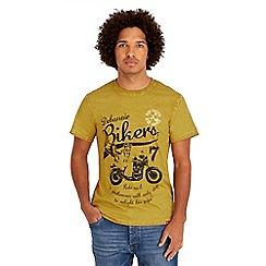 Joe Browns - Mustard debonair t-shirt