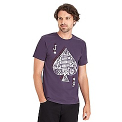 Joe Browns - Purple playing card t-shirt