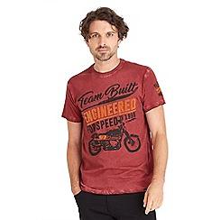 Joe Browns - Red engineered t-shirt