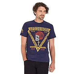 Joe Browns - Navy speed riders t-shirt