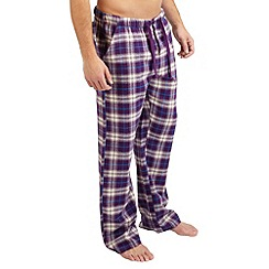 Joe Browns - Purple chill out check pants