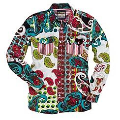 Joe Browns - Multi coloured crazy crazy crazy shirt