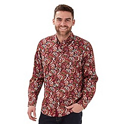 Joe Browns - Red amazing paisley shirt