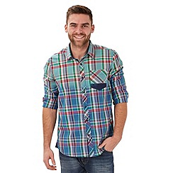 Joe Browns - Blue dipped to perfection shirt