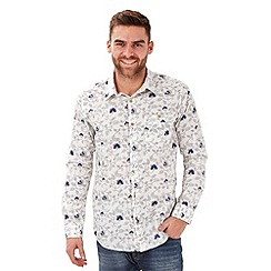 Joe Browns - White perfect placket shirt