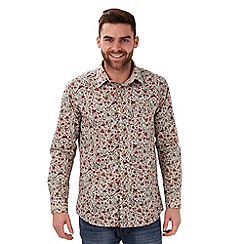 Joe Browns - Cream perfect placket shirt